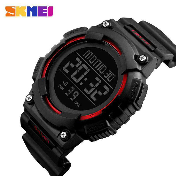 SKMEI DG1248 Red with Rubber Strap Unisex Watch