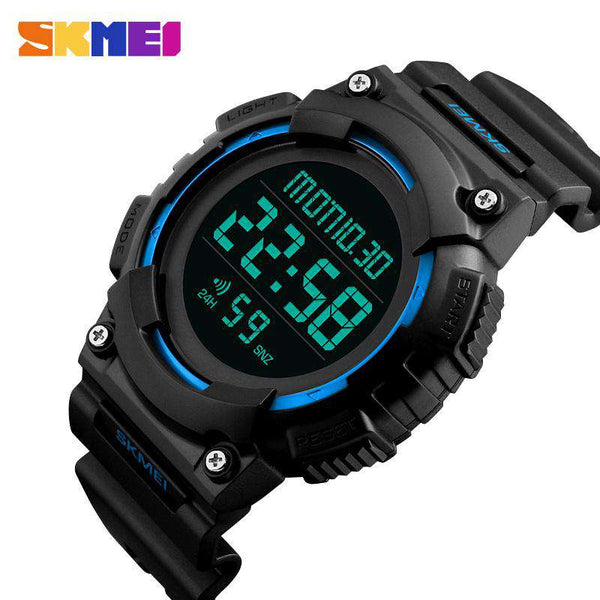 SKMEI DG1248 Blue with Rubber Strap Unisex Watch