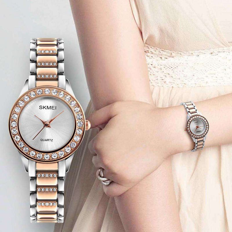 Skmei 1262-1 Silver Womens Watch
