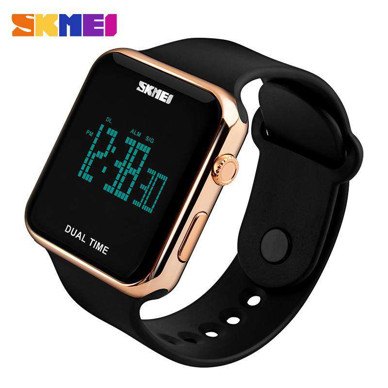 04ab70fdfd9 SKMEI DG1271 Rose Gold with PU Strap Unisex Watch