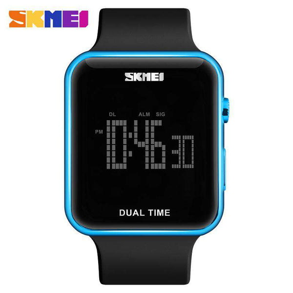 SKMEI DG1271 Blue with PU Strap Unisex Watch