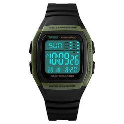 Skmei 1278-4 Green Mens Watch