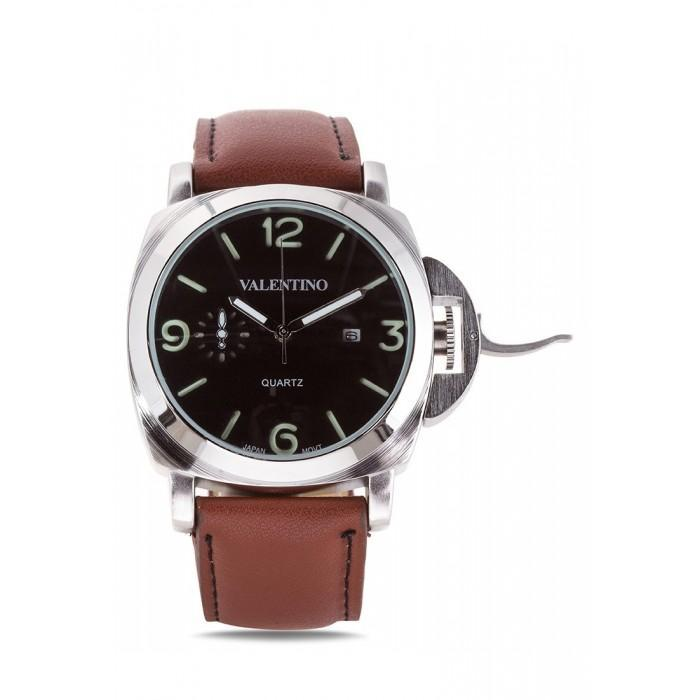 Valentino 20121907-BROWN PANERAI IP LTHR STYLE LEATHER STRAP Watch For Men - Watchportal Philippines