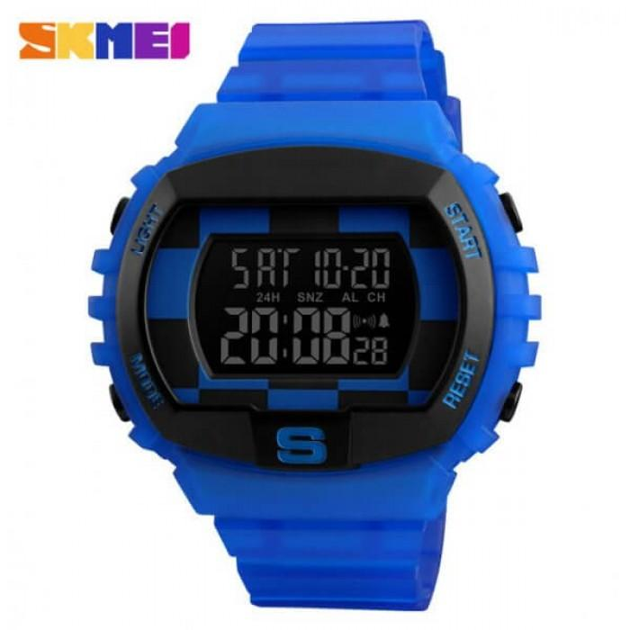 SKMEI 1304 Blue Rubber Strap Watch for Men - Watchportal Philippines
