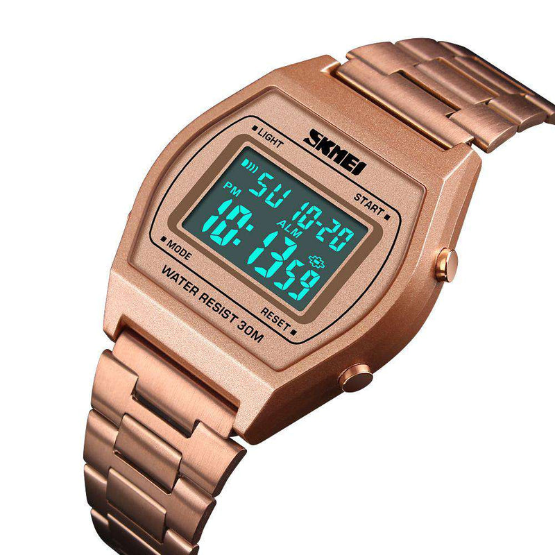 Skmei 1328-3 Rose Gold/Black Unisex Watch