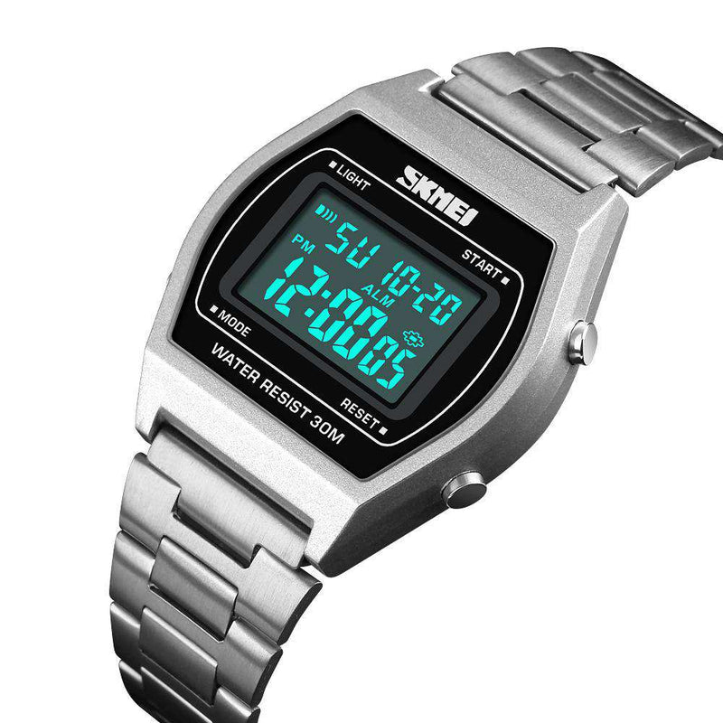 Skmei 1328-1 Silver Unisex Watch