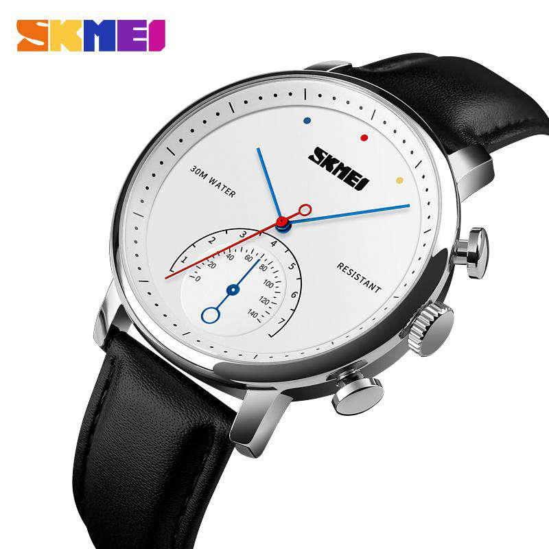 Skmei 1399CL-2 Silver/Black Mens Watch