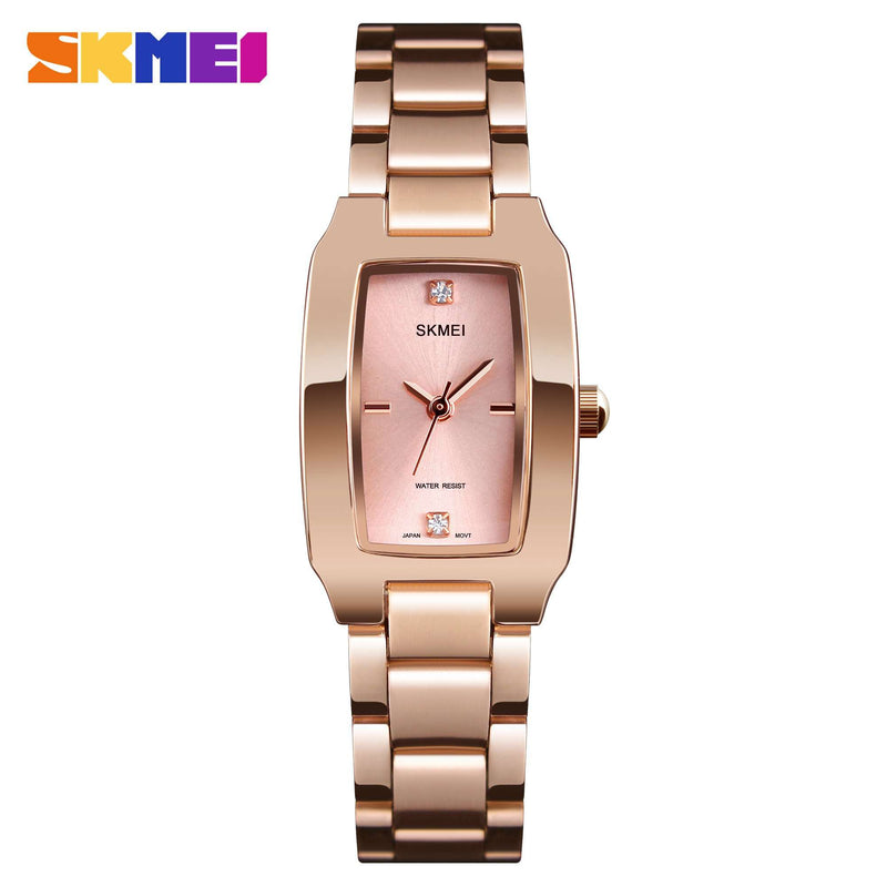 Skmei 1400-3 Rose Gold Womens Watch