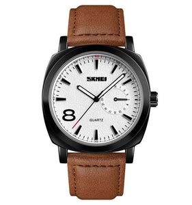 Skmei 1466CL-1 Black/Brown Mens Watch