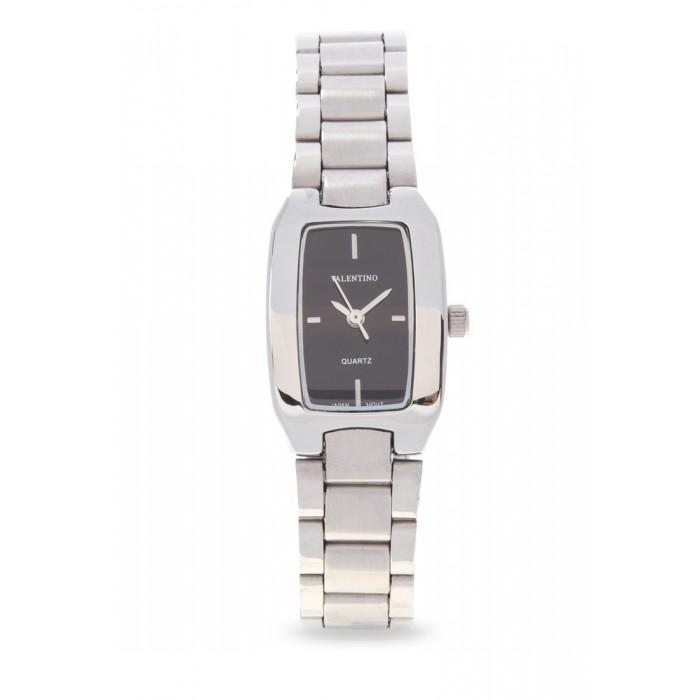 Valentino 20121949-BLACK SILVER STAINLESS BAND Watch For Women