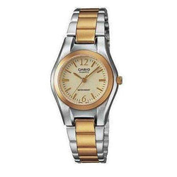 Casio LTP-1253SG-9A Two Tone Stainless Steel Watch for Women - Watchportal Philippines