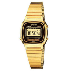 Casio Vintage LA670WGA-1D Gold Plated Watch for Women - Watchportal Philippines