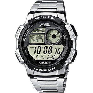 Casio AE-1000WD-1A Silver Stainless Watch for Men