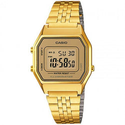 Casio Vintage LA680WGA-9D Gold Plated Watch for Women - Watchportal Philippines