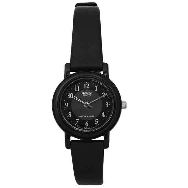 Casio LQ-139AMV-1B3LDF Black Resin Watch for Women