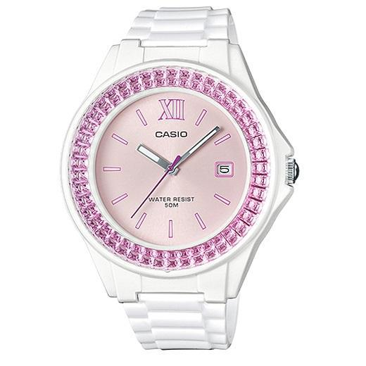 Casio LX-500H-4E White Resin Watch For Women - Watchportal Philippines