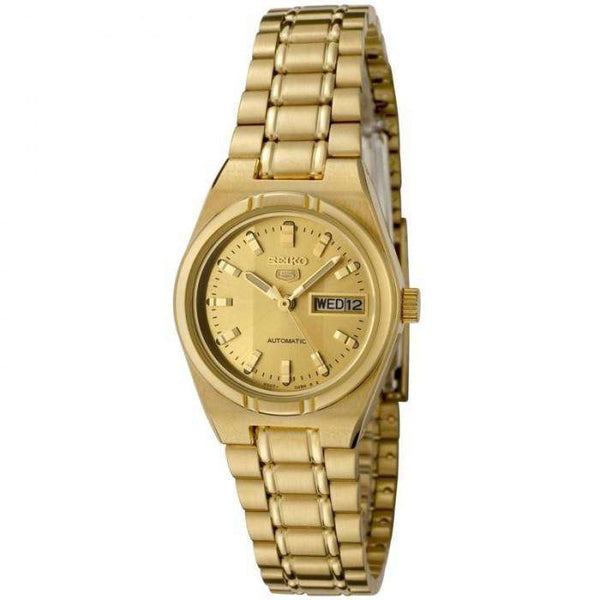 SEIKO SYM600K Automatic Gold Plated Stainless Steel Watch for Women