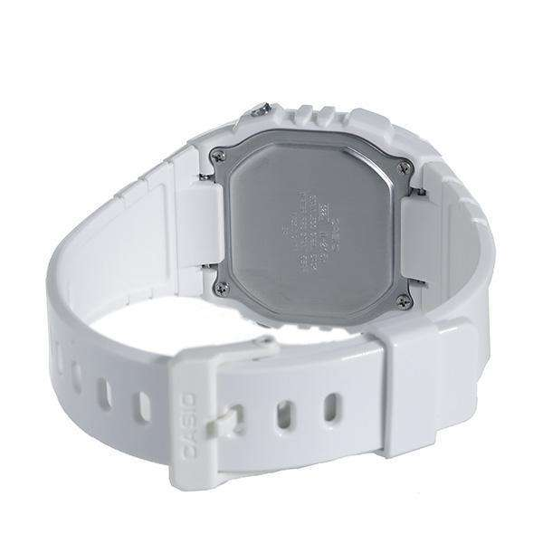 Casio W-215H-7A2 White Resin Strap Watch for Men and Women - Watchportal Philippines