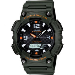 Casio AQ-S810W-3A Army Green Solar Powered Watch for  Men - Watchportal Philippines