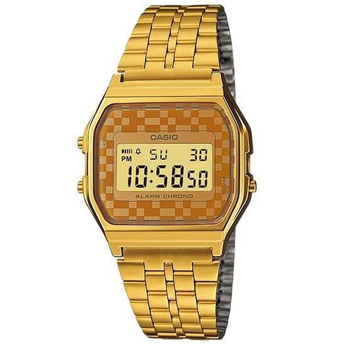 Casio Vintage A159WGEA-9A Gold Plated Watch for Men and Women