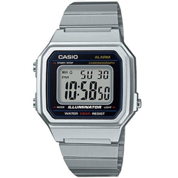 Casio B650WD-1A	Silver Stainless Steel Watch for Men and Women - Watchportal Philippines