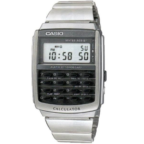 Casio CA-506-1D Silver Stainless Calculator Watch for Men and Women - Watchportal Philippines
