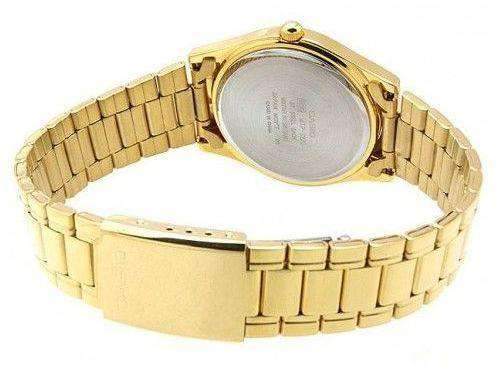 Casio MTP-1275G-9A Gold Stainless Steel Watch For Men