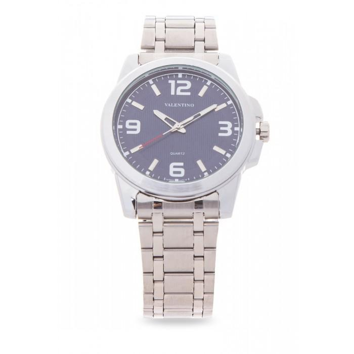 Valentino 20121954-BLUE SILVER STAINLESS BAND Watch For Men