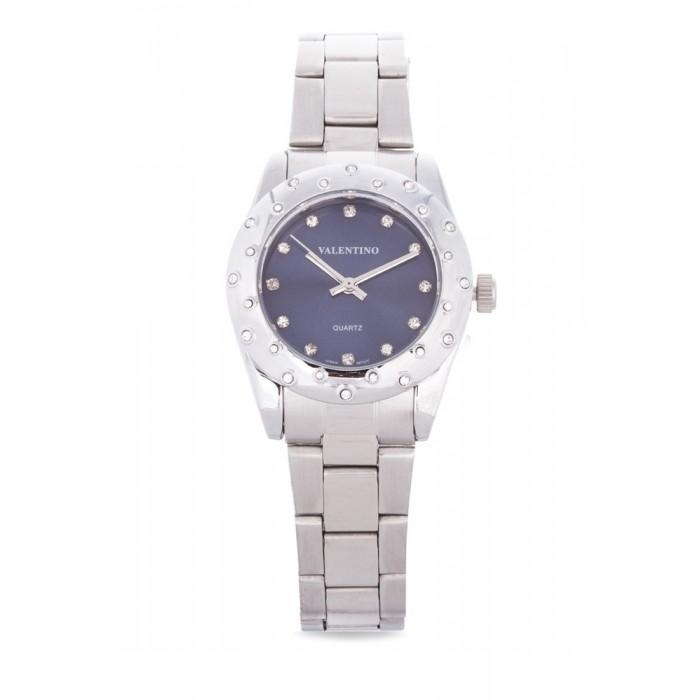 Valentino 20121975-BLUE SILVER STAINLESS BAND Watch For Women