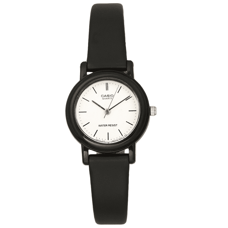 Casio LQ-139BMV-7ELDF Black Resin Watch for Women