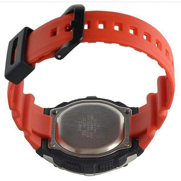 Casio AE-2100W-4A Orange Resin Strap Watch for Men - Watchportal Philippines