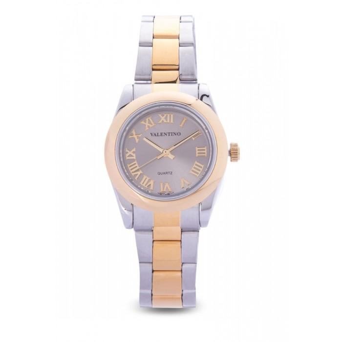 Valentino 20122023-SILVER DIAL GOLD STAINLESS STEEL STRAP Watch for Women