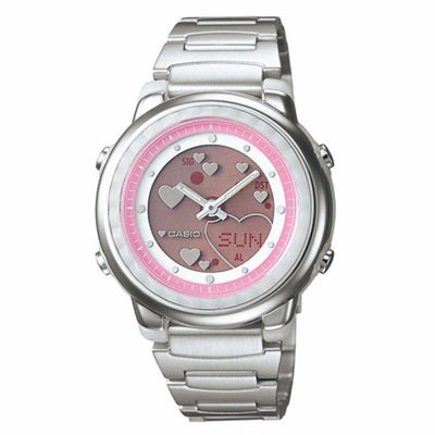 Casio LAW-25D-4A Silver Stainless Watch for Women - Watchportal Philippines