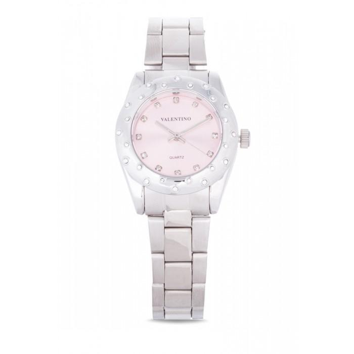 Valentino 20121975-PINK SILVER STAINLESS BAND Watch For Women
