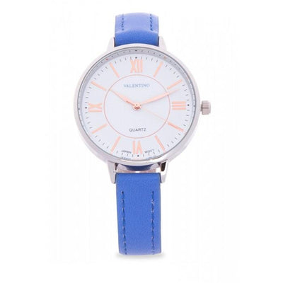Valentino 20121946-BLUE STRAP BLUE LEATHER Watch For Women