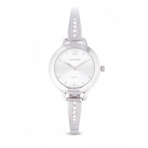 Valentino 20121982-SILVER SILVER FASHION METAL ALLOY STRAP Watch for Women