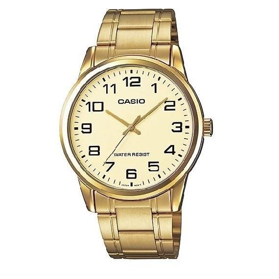 Casio MTP-V001G-9B Gold Plated Watch for Men
