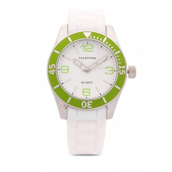 Valentino  20121558-GREEN SILICON STRAP Watch for Women
