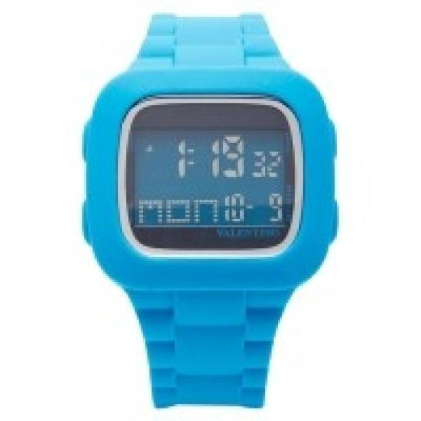 Valentino 20121738-BLUE UNISEX RUBBER STRAP Watch for Men and Women