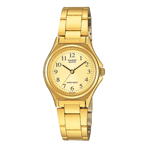Casio LTP-1130N-9B Gold Plated Watch for Women