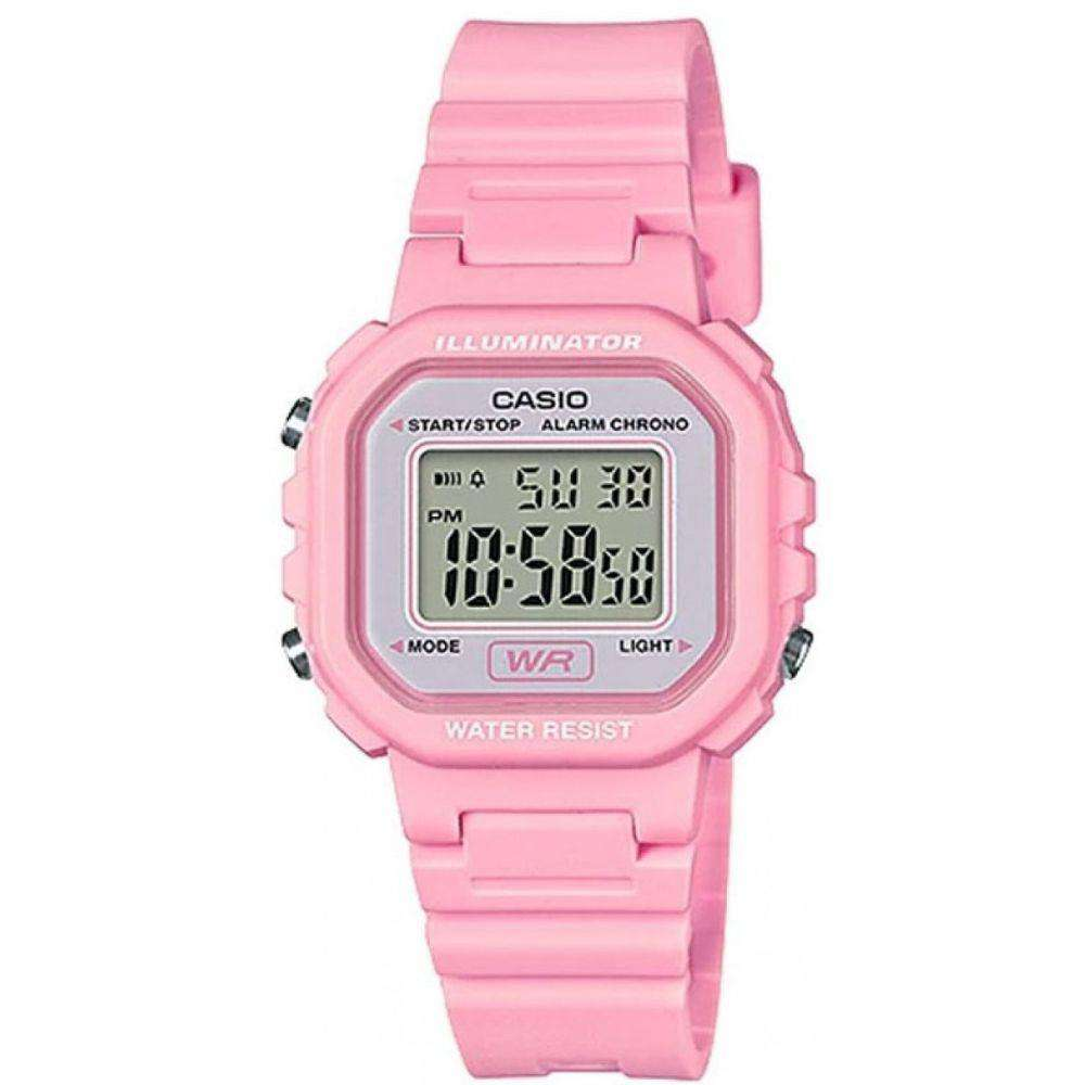 e13474f99 Casio LA-20WH-4A1DF Pink Resin Strap Watch for Women | Watch Portal  Philippines