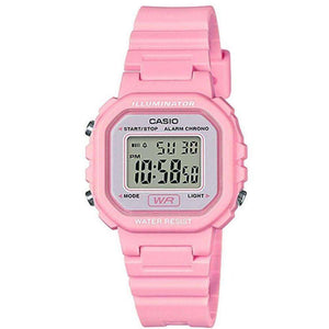 Casio LA-20WH-4A1DF Pink Resin Strap Watch for Women
