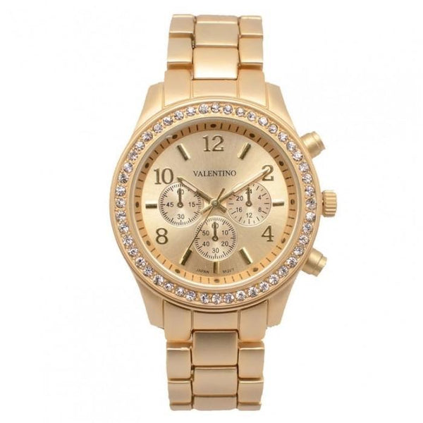 Valentino 20121726-MATTE YELLOW EXCALIBUR IP JUNIOR ALLOY STRAP Watch for Women