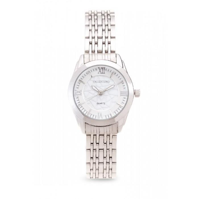 Valentino 20121914-Silver Dial Sta Barbara Mtl L Stainless Strap Watch For Women