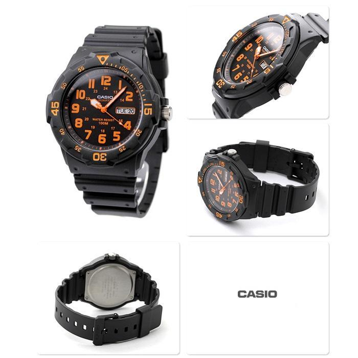 Casio MRW-200H-4B Black Resin Strap Watch for Men - Watchportal Philippines