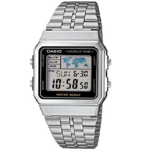 Casio Vintage A500WA-1D Silver Stainless Watch for Men and Women - Watchportal Philippines