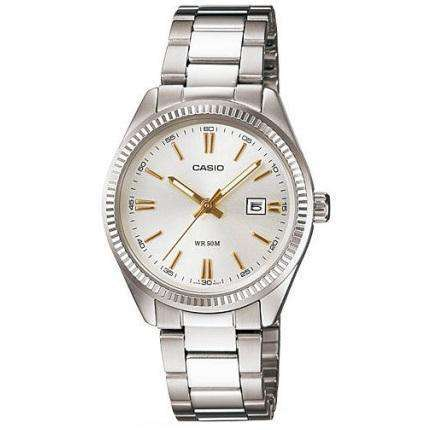 Casio LTP-1302D-7A2 Silver Stainless Watch for Women - Watchportal Philippines
