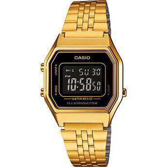 Casio Vintage LA680WGA-1B Gold Plated Watch for Women - Watchportal Philippines