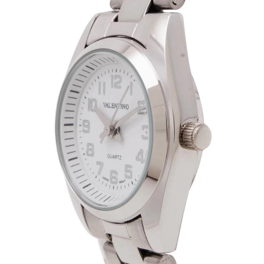 Valentino 20121269-WHITE DIAL STAINLESS BAND Strap Watch for Women - Watchportal Philippines