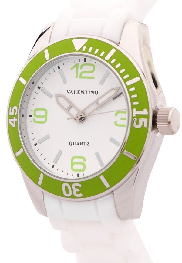 Valentino  20121558-GREEN SILICON STRAP Watch for Women - Watchportal Philippines